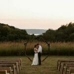 Outdoor wedding at Maidenwood Weddings & Events